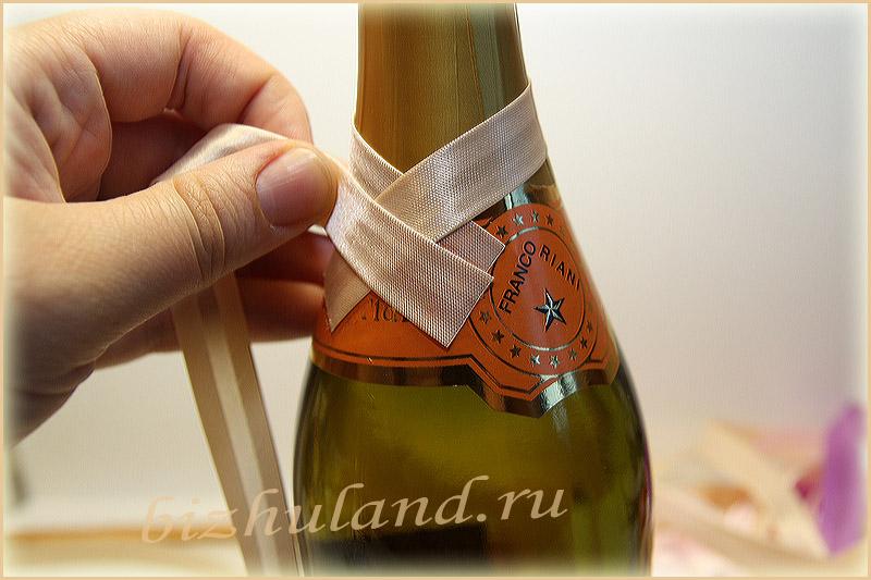 Мк оформление бутылок своими руками